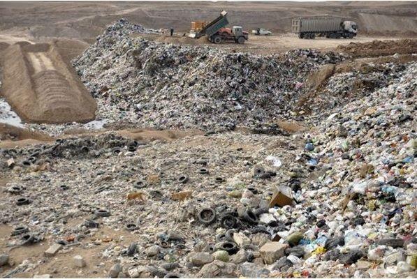 مکان یابی محل جدید جهت دفن زباله ها