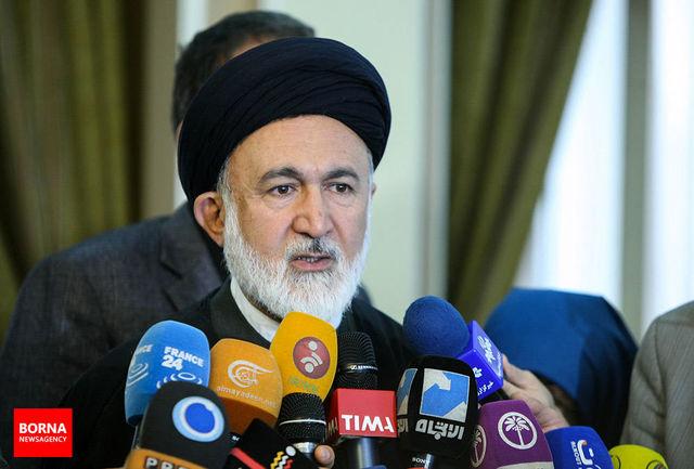 پرچم ایران روی میز مذاکرات ایران و عربستان بود