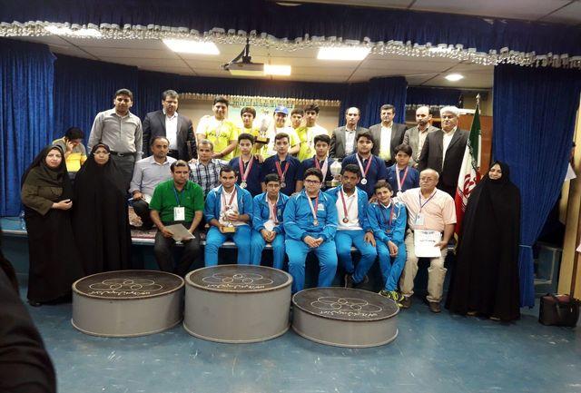 تهران قهرمان مسابقات شطرنج دانش آموزان کشور شد