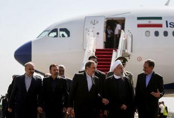 بازگشت دکتر روحانی به تهران