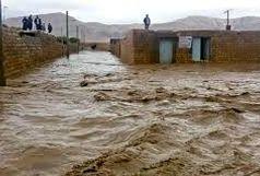 به ۱۸ واحد مسکونی روستایی در مسیر  سیل خسارت وارد شد