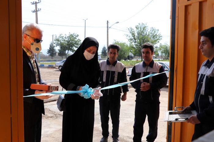 افتتاح آزمایشگاه بازرسی و آزمون دوره ای مخازن ذخیره جایگاه های CNG در لرستان