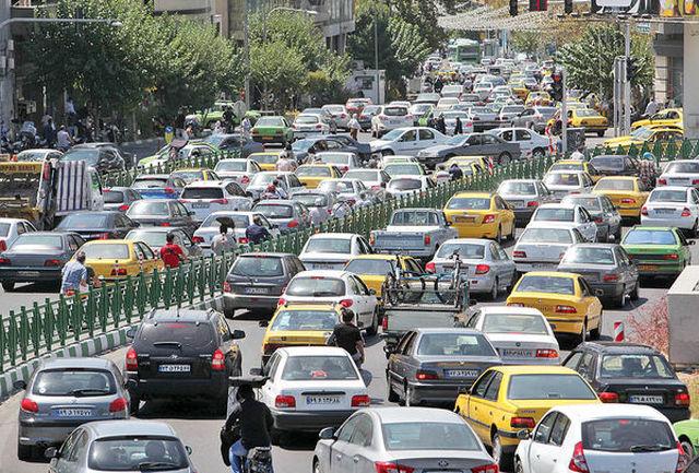 ترافیک سنگین در محور شهریار – تهران