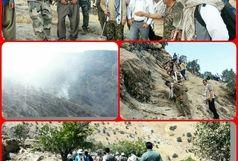 مهار آتش سوزی جنگل های منطقه