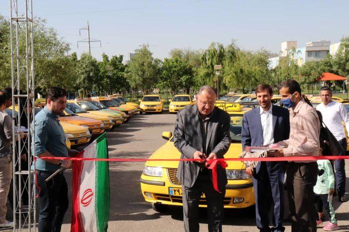 مسابقه رالی خانواده تاکسیرانی در قزوین برگزار شد