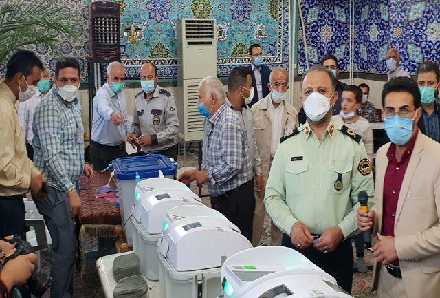۳۵۰۰ نیروی نظامی و انتظامی تامین امنیت انتخابات را برعهده دارند