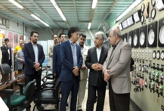 معاون سیاسی،امنیتی و اجتماعی استانداری البرز مشکلات نیروگاه منتظر قائم را بررسی کرد