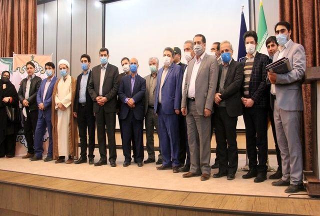 برگزاری مراسم تودیع و تکریم مدیرکل تعزیرات حکومتی استان زنجان