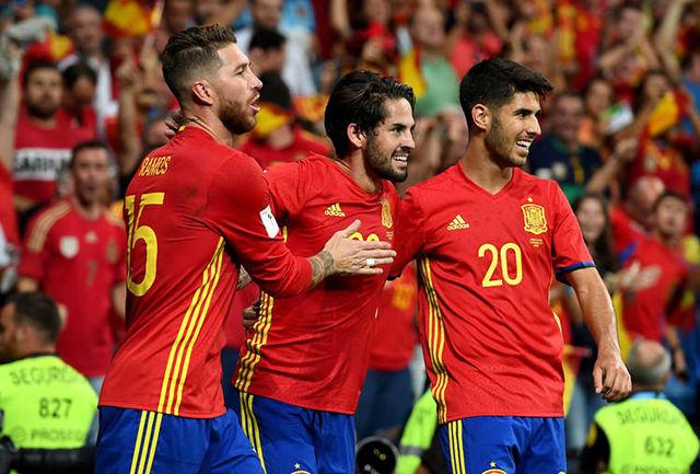 اسپانیا و آلمان گزینههای اصلی قهرمانی جام جهانی 2018