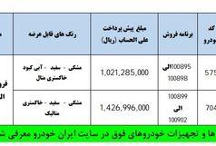 جزئیات طرح جدید فروش تیرماه محصولات ایران خودرو اعلام شد + جدول