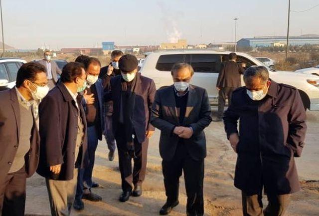 وزیر صنعت وارد استان قزوین شد