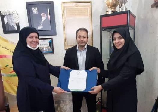نرگس تقیزاده مقدم عضو افتخاری هیات رئیسه فدراسیون هاکی شد