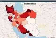 اسامی 15 استان دارای وضعیت قرمز کرونایی تا 24 مرداد 99