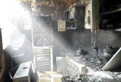 مرگ هولناک مرد مسن در آتش سوزی نعمت آباد تهران+ عکس