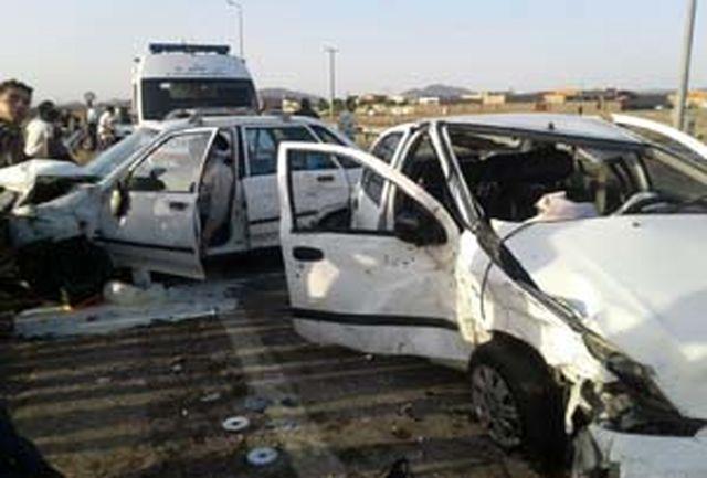 حادثه رانندگی در شازند ۲ کشته و یک مجزوح در جا گذاشت