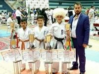 درخشش کاراته کاران شهرستان ترکمن در مسابقات بین المللی