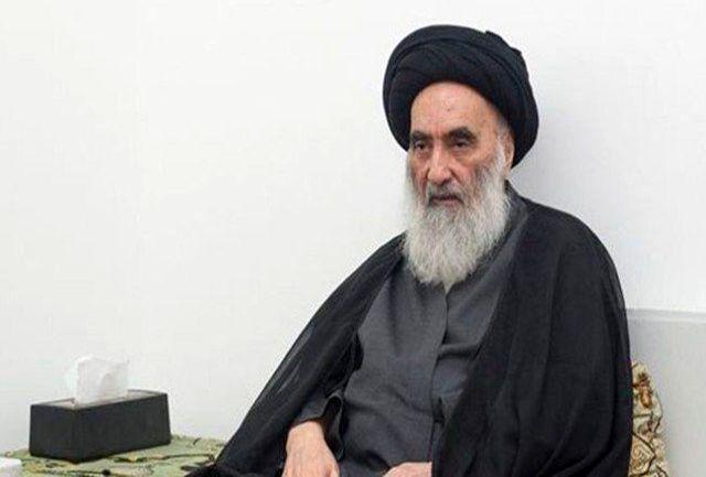 ارسال پیام آیت الله سیستانی به رهبران عراق درباره ایران صحت ندارد