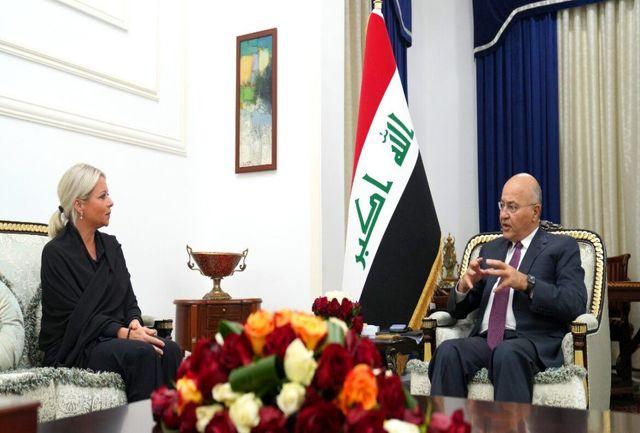 تاکید عراق و سازمان ملل بر مبارزه تا نابودی تروریسم