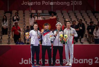 مدال برنز محمدرضا گرایی/ بازیهای آسیایی۲۰۱۸ جاکارتا