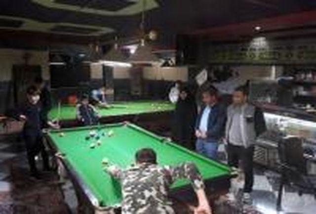 مسابقات بیلیارد دانش آموزی در خلخال برگزار شد
