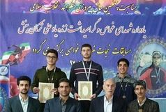 مسابقات نجاتغریق و غواصی قهرمانی در استان همدان برگزار شد