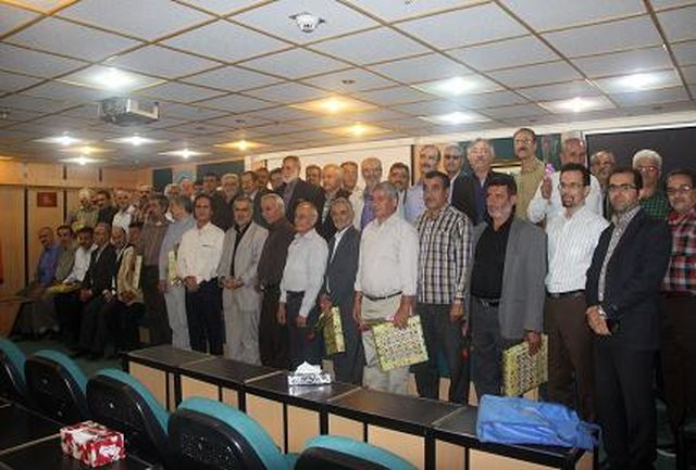 از بازنشستگان شرکت گاز استان قزوین تجلیل شد