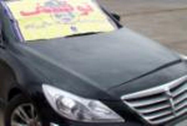 سواری سوناتا به خاطر سرعت غیر مجاز توقیف شد