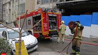 آتش سوزی 6 خانه در رشت