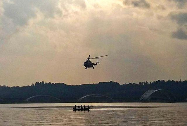 توضیح وزارت نفت درباره سقوط بالگرد در لاوان
