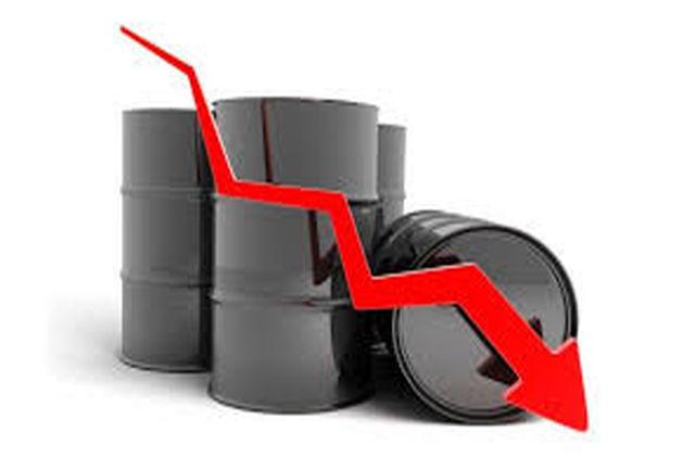 کاهش بهای نفت خام در بازار جهانی