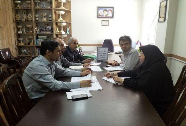 جلسات ستاد مرکزی مسابقات کشوری دانش آموزان در زنجان آغاز گردید