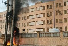 جزییات انفجار و آتشسوزی امشب ترانس برق خوابگاه دانشجویان دختر دانشگاه علوم پزشکی آبادان