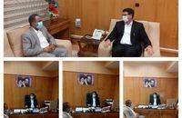 دیدار رییس شوراهای مذهبی استان با معاون سیاسی امنیتی استاندار