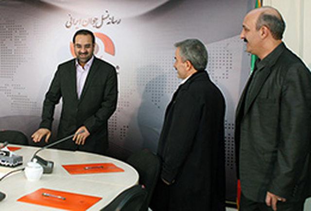 وزیر ورزش و جوانان از خبرگزاری برنا بازدید کرد