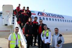 سرخپوشان با پرواز اختصاصی وارد تهران شدند+عکس