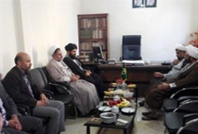 ائمه جمعه خیرآباد و جواد آباد ورامین با مدیر کل تبلیغات اسلامی تهران دیدار کردند