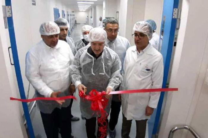 بهره برداری از واحد تولید جامدات دارویی ساوه با حضور وزیر بهداشت و درمان
