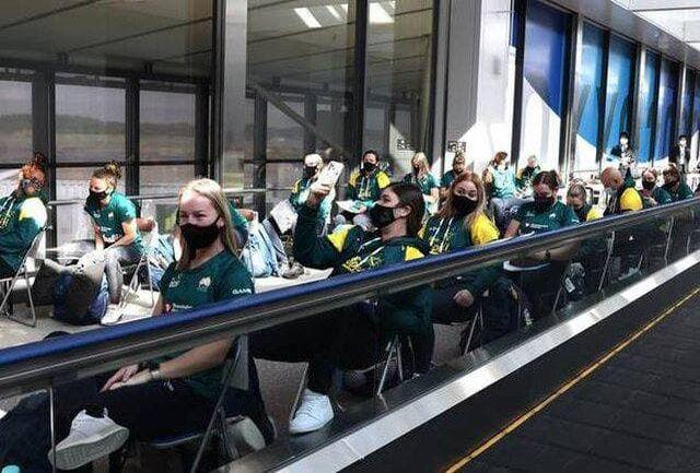 ورود اولین گروه ورزشکاران به توکیو