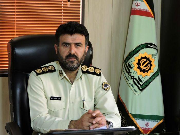 سارقان حرفهای کلاردشت در دستان پلیس