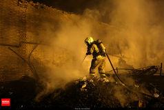 آتش سوزی گسترده در تهران/ آخرین آمار مجروحین اعلام شد