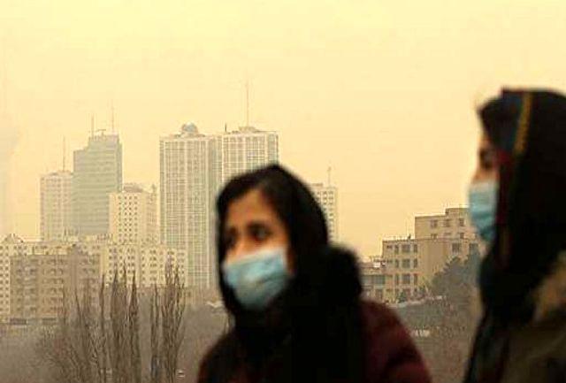 تداوم آلودگی هوا در اصفهان