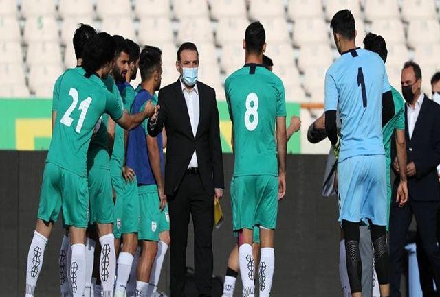 تیم ملی متعلق به مردم است/ فدراسیون خواستههای سرمربی را در اختیار تیم ملی قرار داده است
