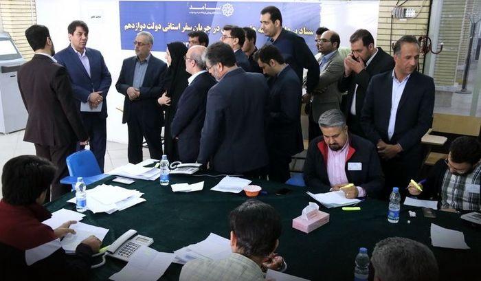 بررسی مکاتبات مردمی در سفر رئیس جمهور به یزد توسط 200 نفر