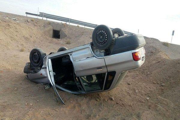 2 کشته  و 1 مصدوم در سقوط پراید به داخل دره!