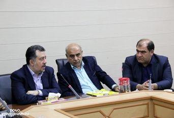 نشست خبری  «معاون امور جوانان وزرات ورزش »در کرمانشاه