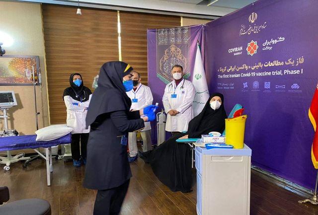 اولین داوطلب دریافت واکسن کرونای ایرانی + فیلم