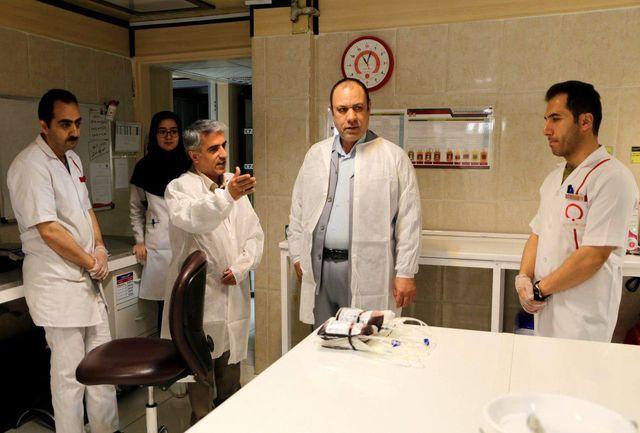 افزایش چهار درصدی مراجعه کنندگان اهدا خون در کردستان