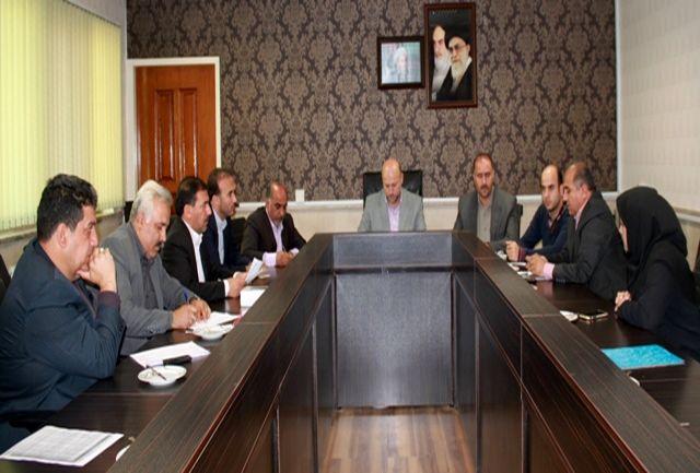 جلسه کارگروه انتقال صنوف مزاحم و آلاینده شهرستان قدس