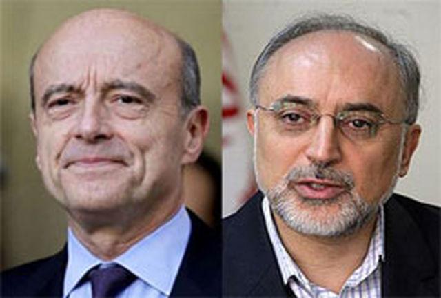 بررسی تحولات بینالمللی در گفتوگوی تلفنی وزرای خارجه ایران و فرانسه