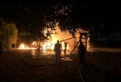 آتش سوزی پارک ۴۲ هکتاری اهواز عمدی بود